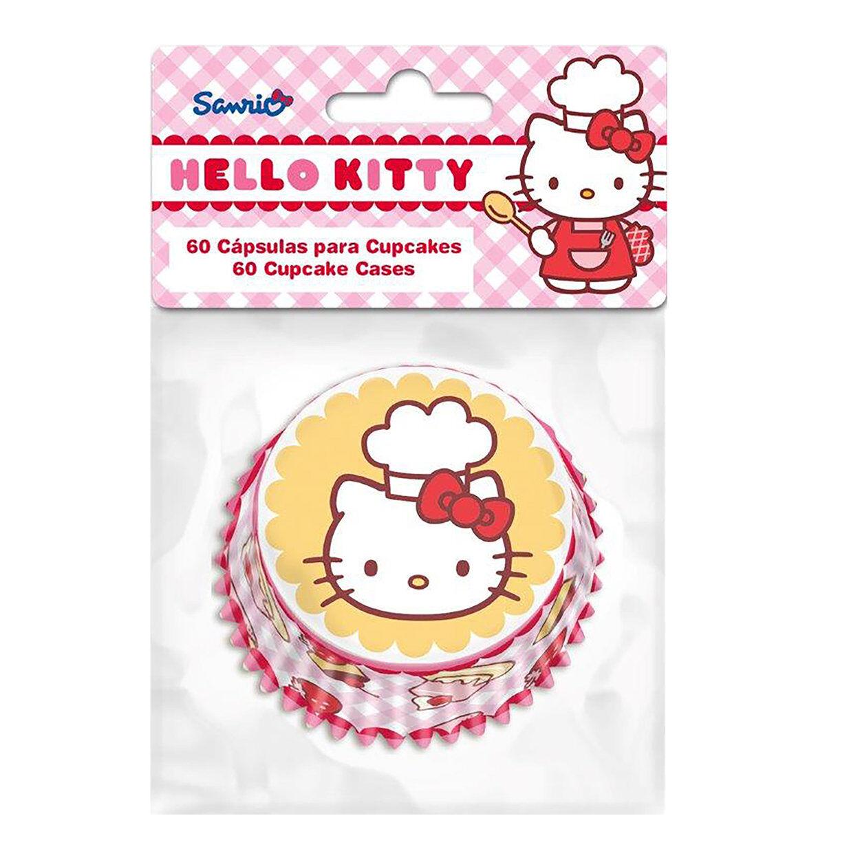 North star tavola Set di 60 Pirottini per Cupcakes Hello Kitty Cake Design