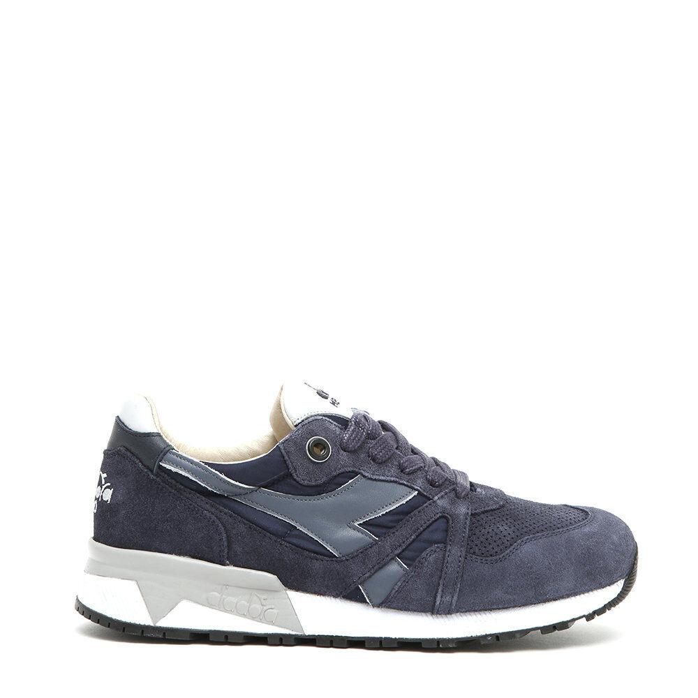 Diadora Sneakers con inserti a contrasto blu denim