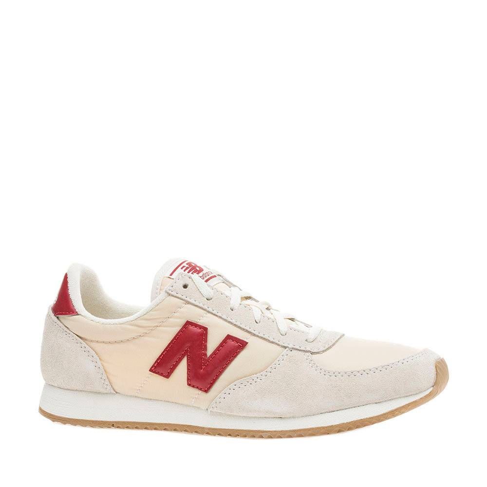 New Balance Sneakers  donna scamosciate ghiaccio e beige
