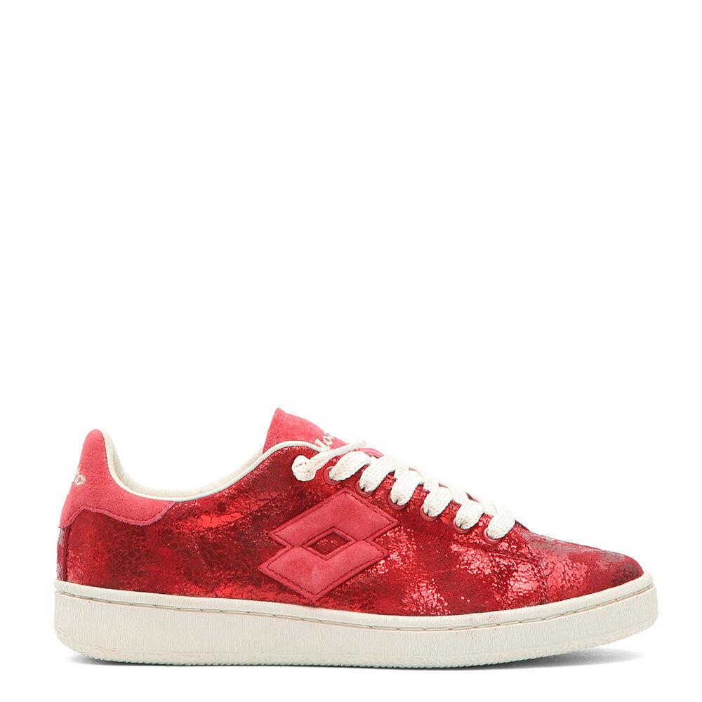 Lotto Sneakers bassa Autograph da donna rosso
