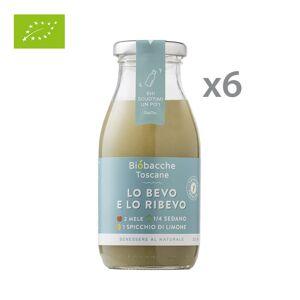 Biobacche Toscane 6 bottigliette - Lo bevo e lo ribevo 250 ml