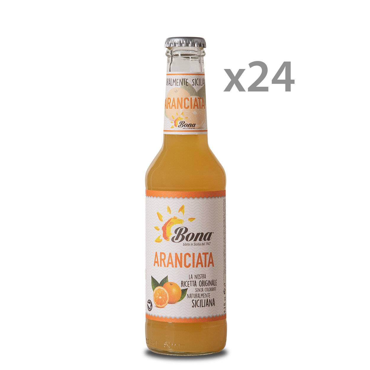 Bona 24 bottiglie - aranciata 275 ml