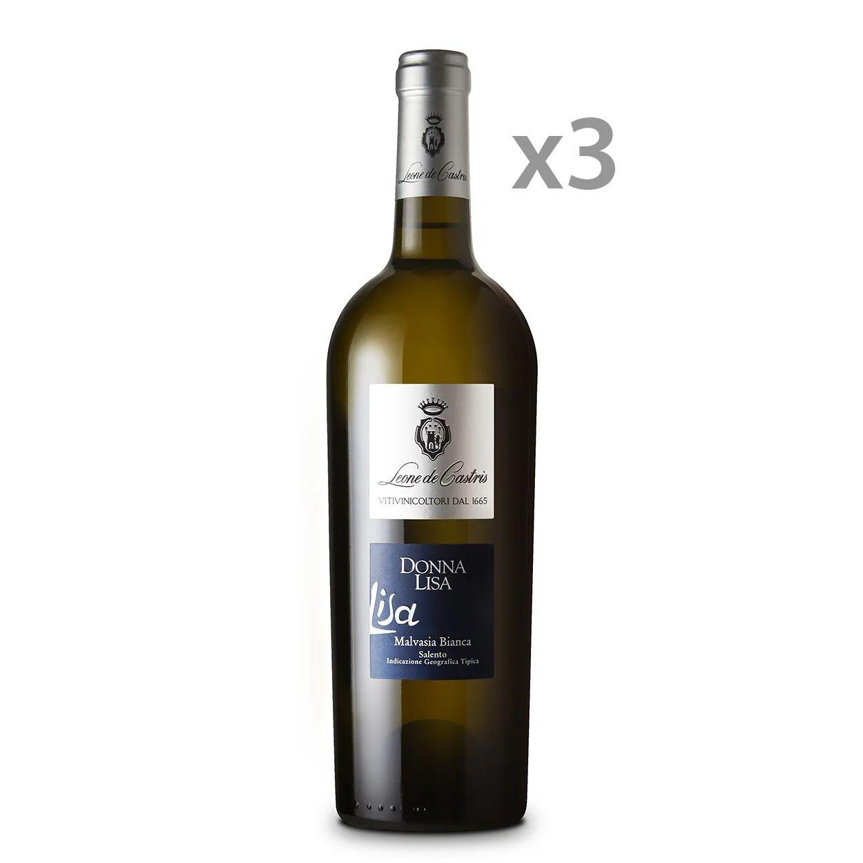 leone 3 bottiglie - donna lisa malvasia bianca igt salento 2018