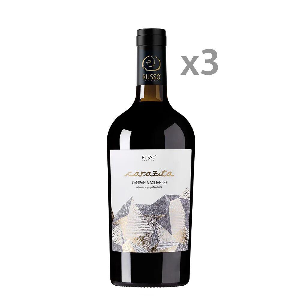 Cantine Russo 3 bottiglie - Carazita Campania Aglianico IGT