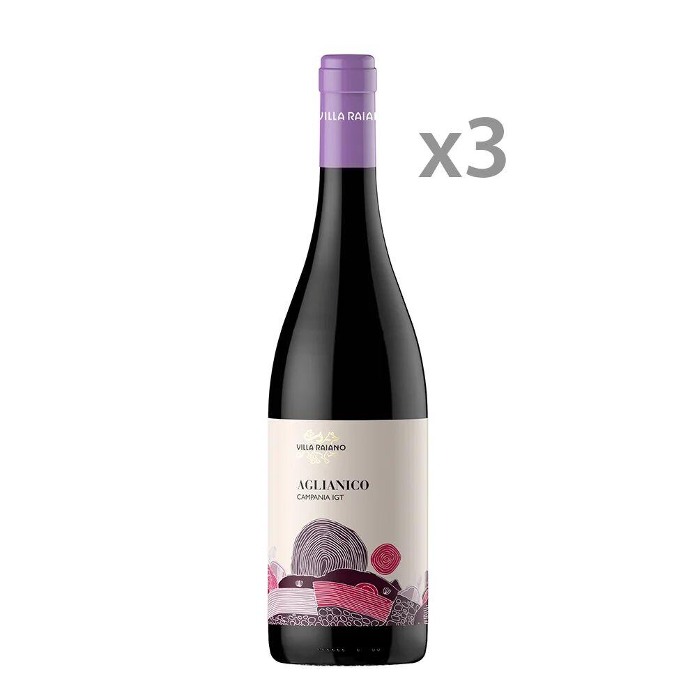 Villa Raiano 3 bottiglie - Campania Aglianico IGT 2018