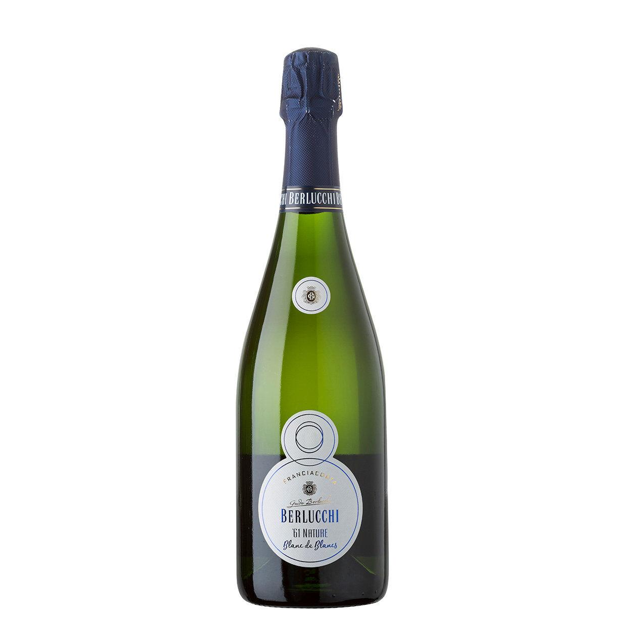 Berlucchi 1 bottiglia - Franciacorta DOCG 61 Nature Blanc de Blancs 2013