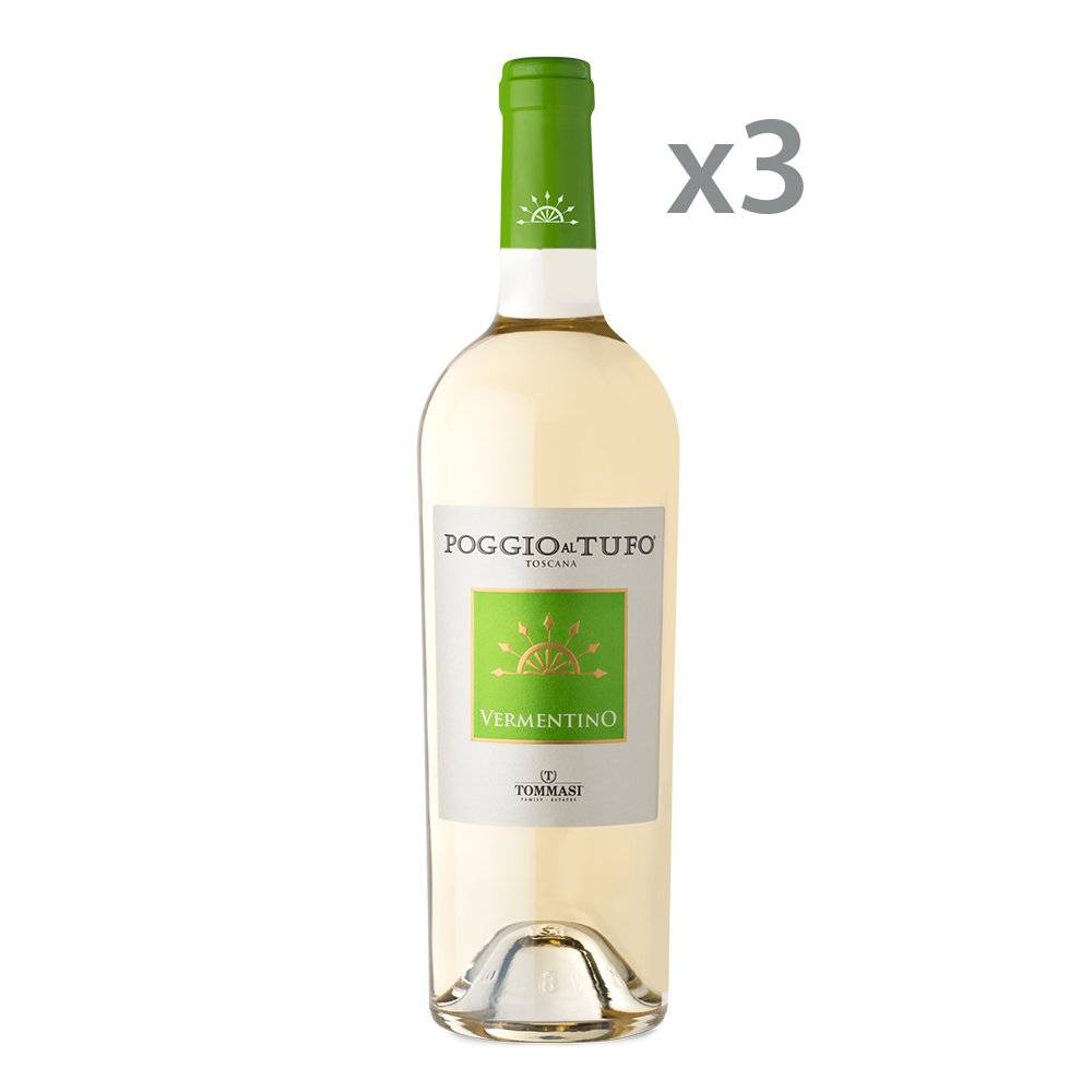Poggio al Tufo 3 bottiglie - Vermentino Toscana IGT 2019