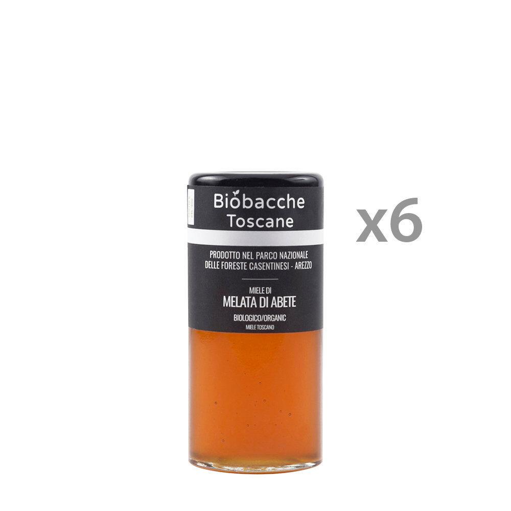 biobacche toscane 6 vasetti - miele di melata di abete 135 gr