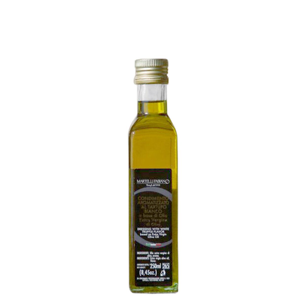Martelli Fabiano Tartufi 1 bottiglia - Condimento aromatizzato al Tartufo Bianco 250 ml