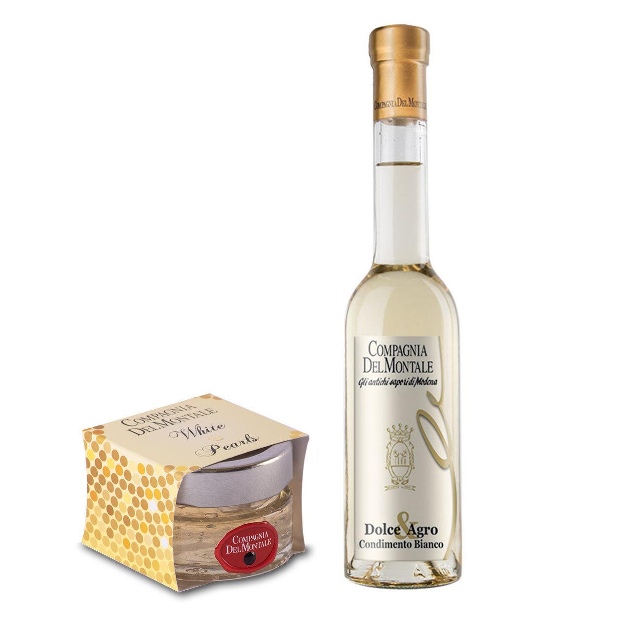 Compagnia del Montale 2 prodotti misti: Condimento Bianco - Perle Bianche