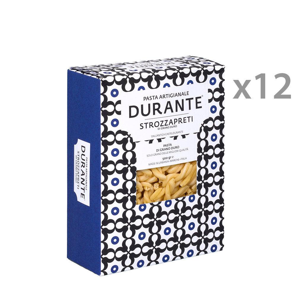 Pasta Durante 12 confezioni - Strozzapreti semola di grano duro 500 gr