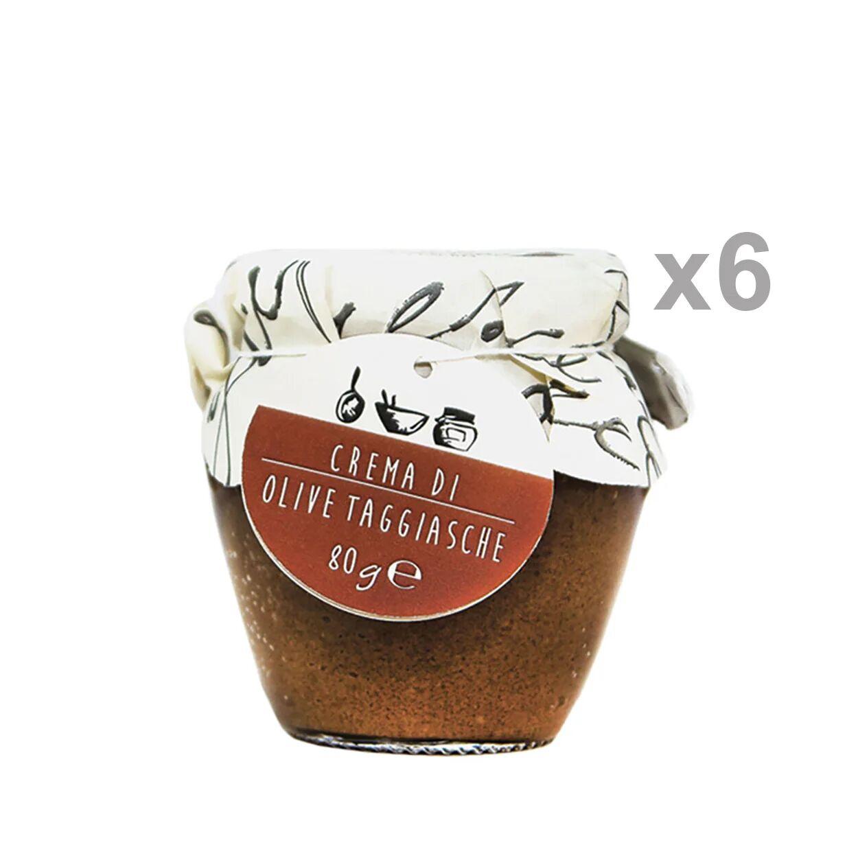 La Bella Angiolina 6 orci - Crema di olive taggiasche 80 gr