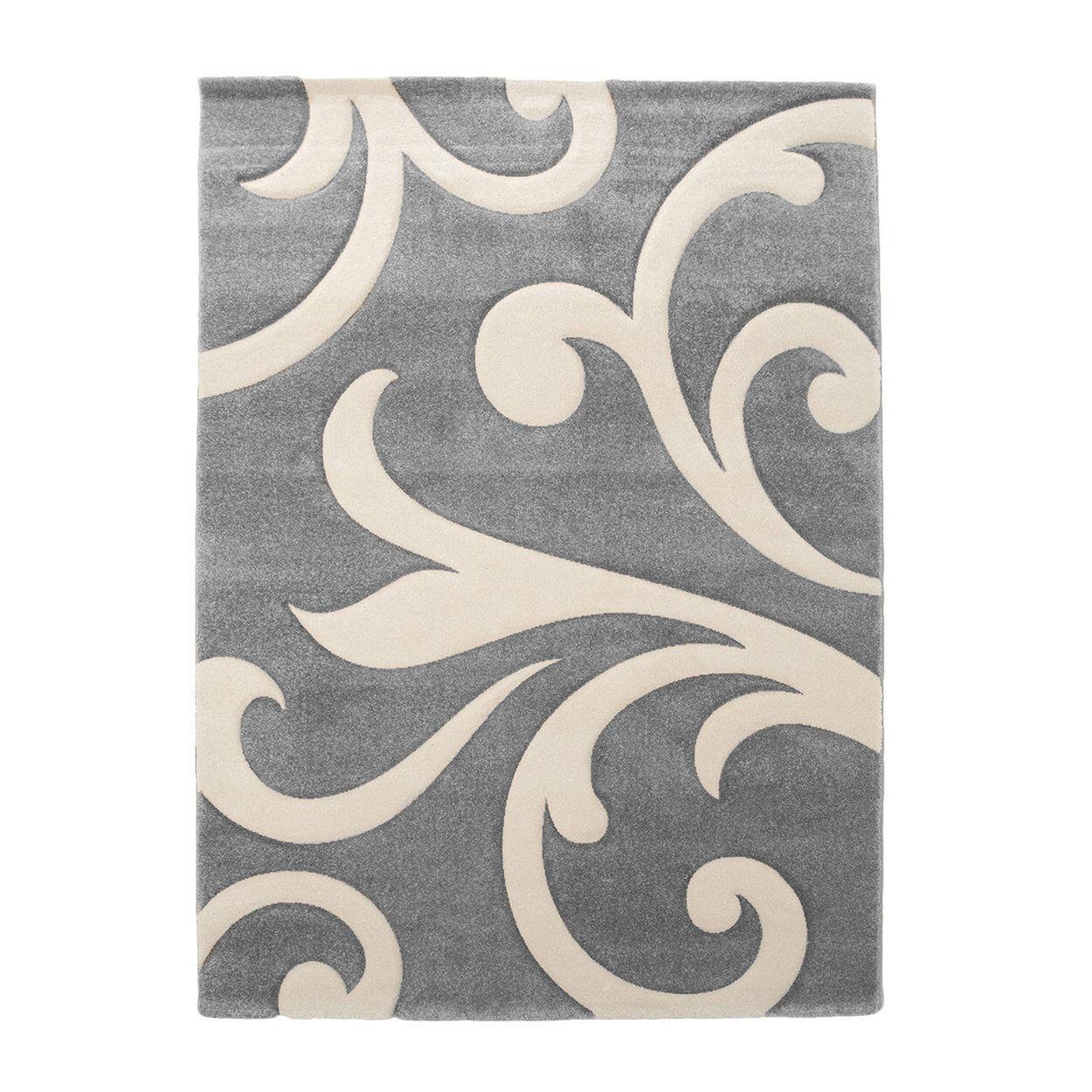 Office Design by Tomasucci Tappeto Damasko Grey 140x190, multicolore