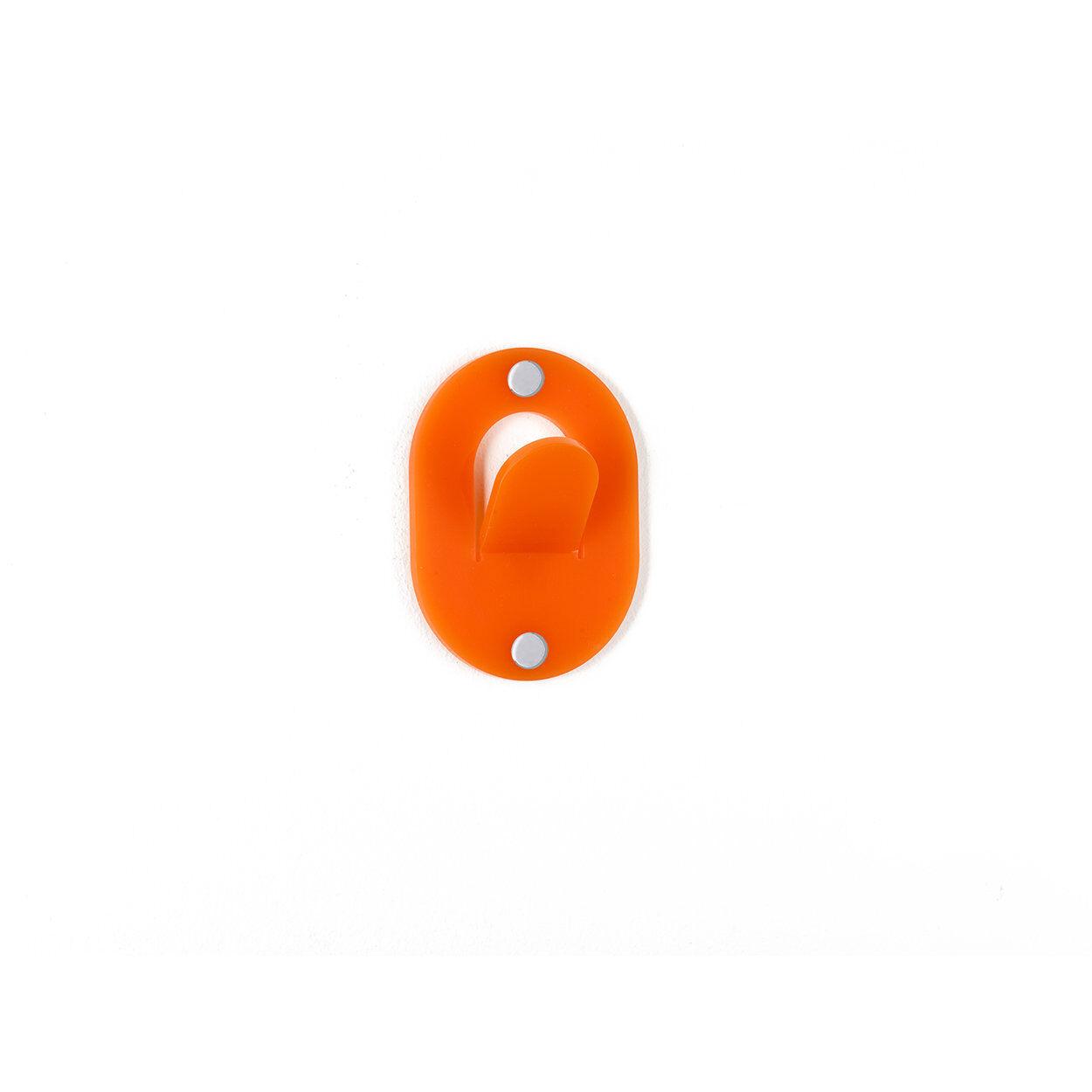 iplex appendino clips, arancione singolo