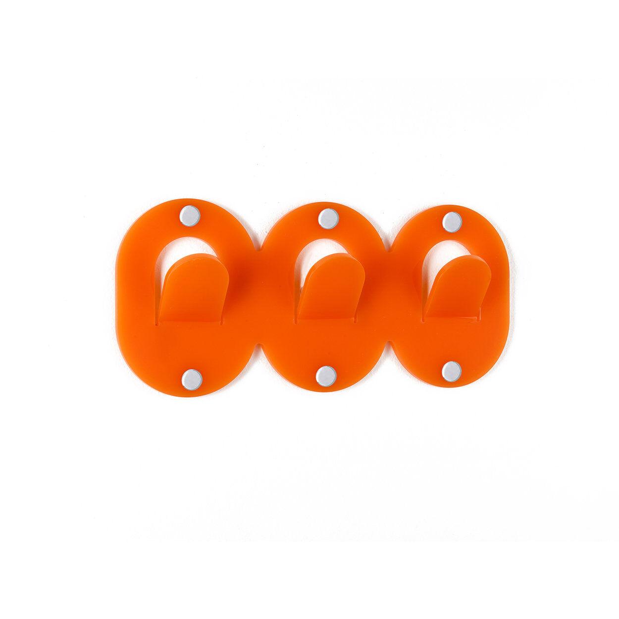 iplex appendino clips, arancione trio