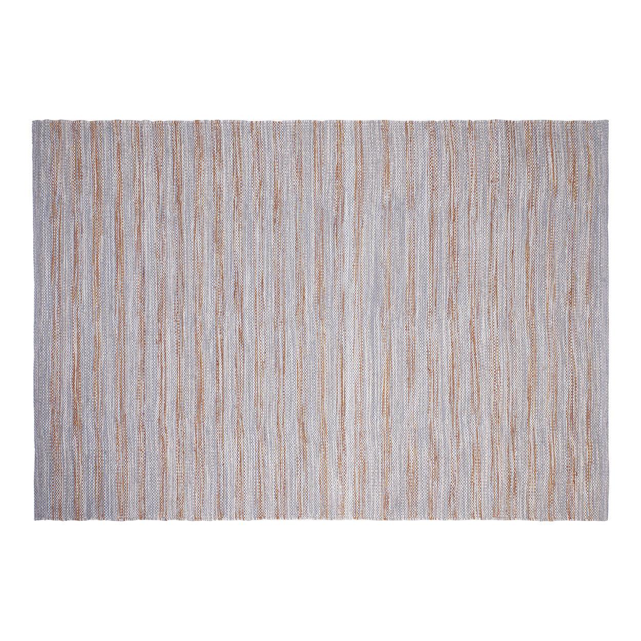 novità home tappeto disegual melange' lana e cotone, grigio,verde,rosso,arancione