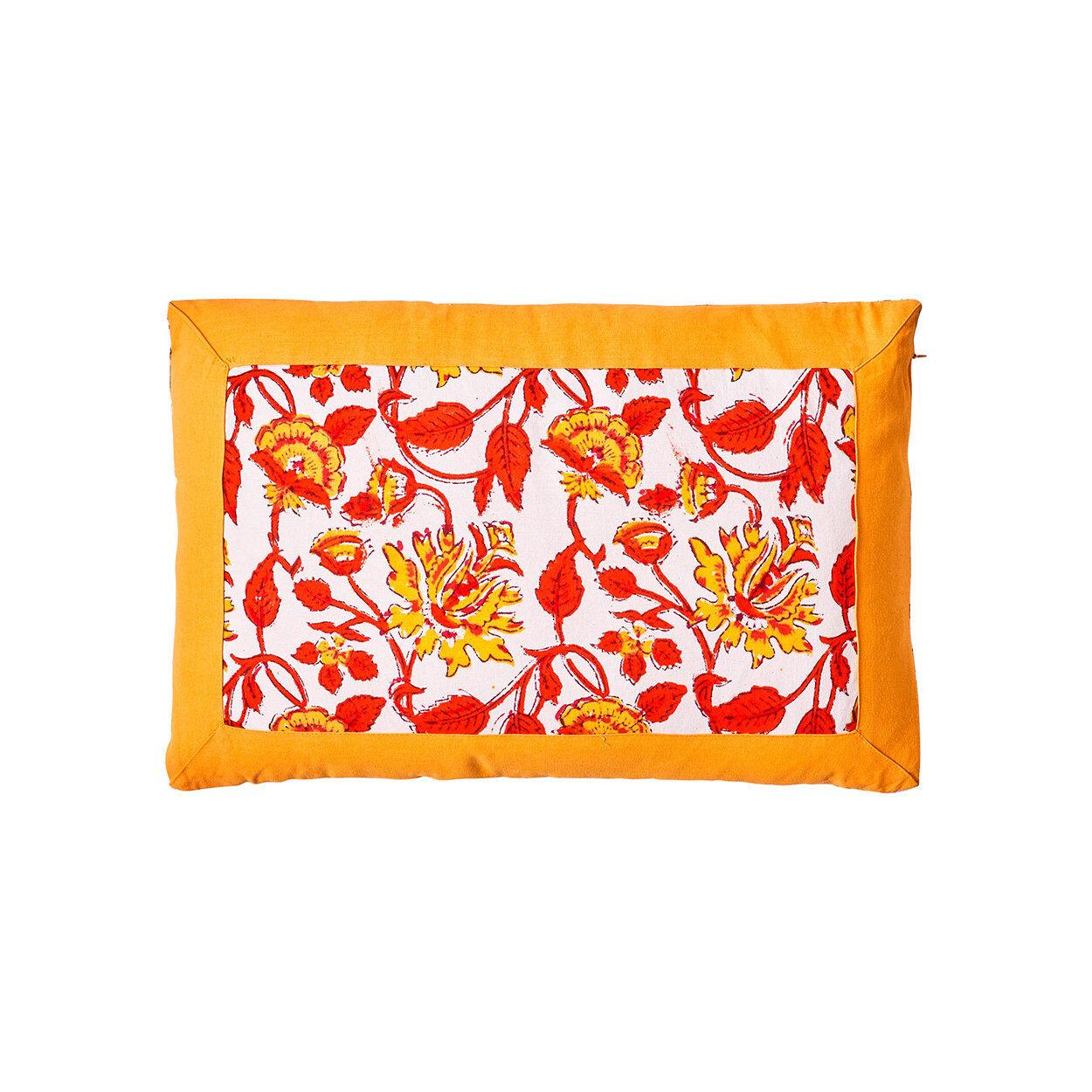 novità home cuscino san vito lo capo 30x45, giallo,arancione