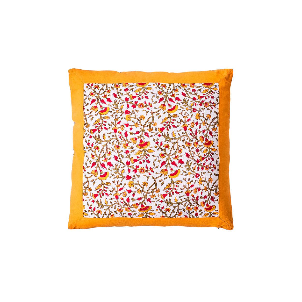 novità home cuscino modica 50x50, arancione,giallo