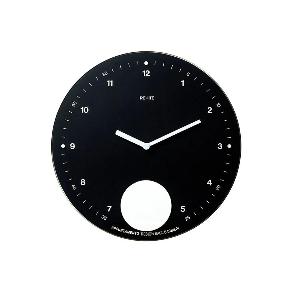 Rexite Orologio a pendolo da parete APPUNTAMENTO, nero