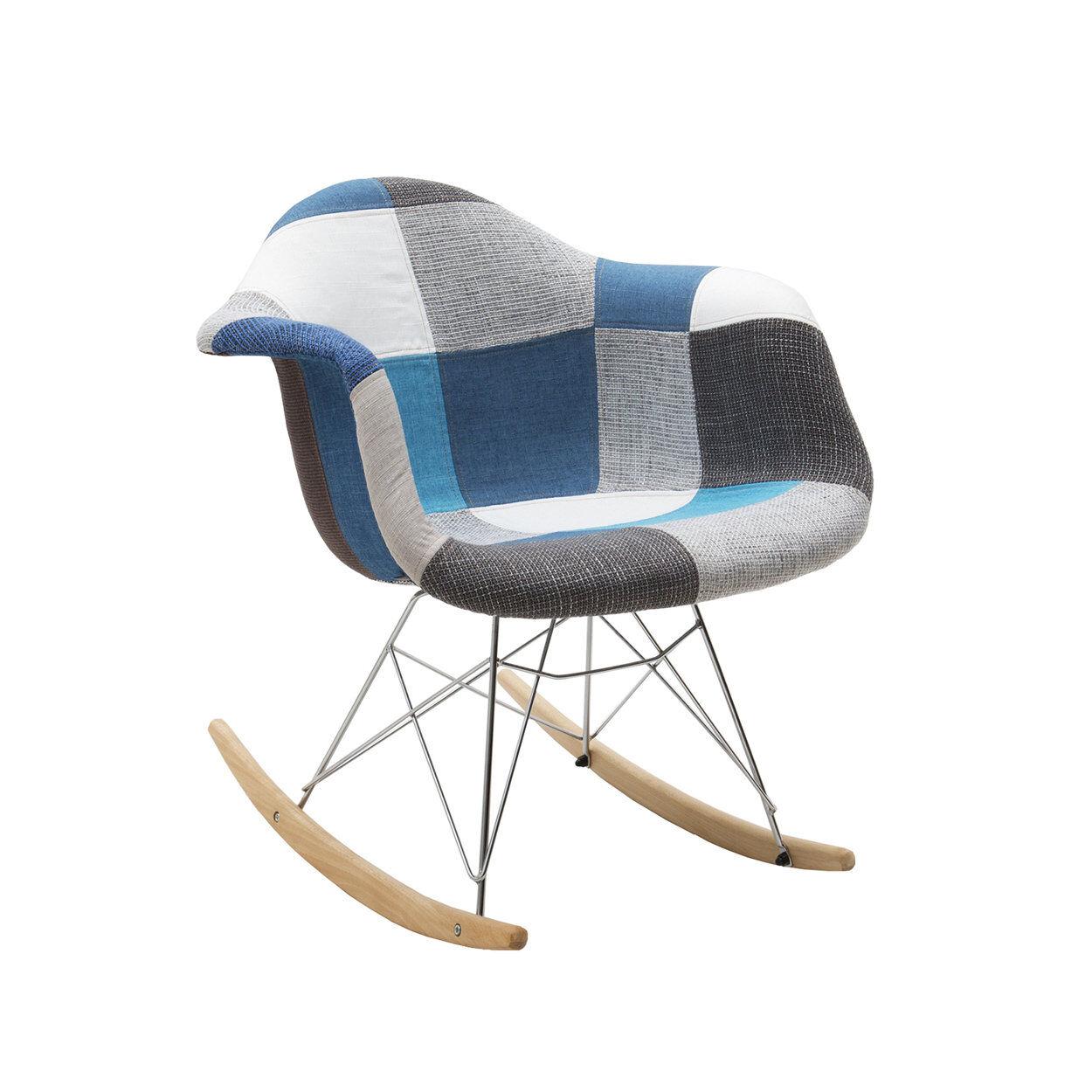zanini design sedia a dondolo daniel
