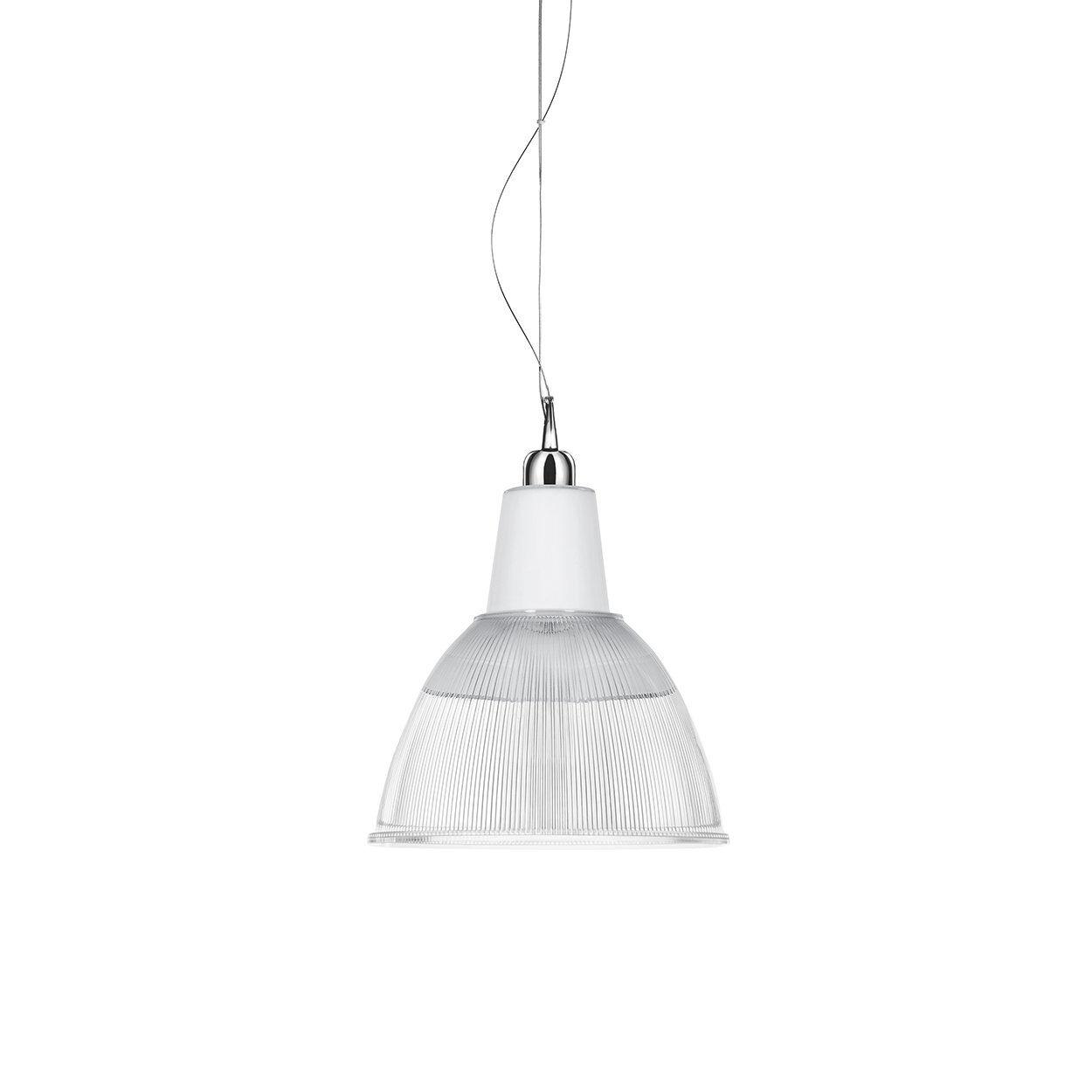 iplex lampadario carioca, trasparente/bianco