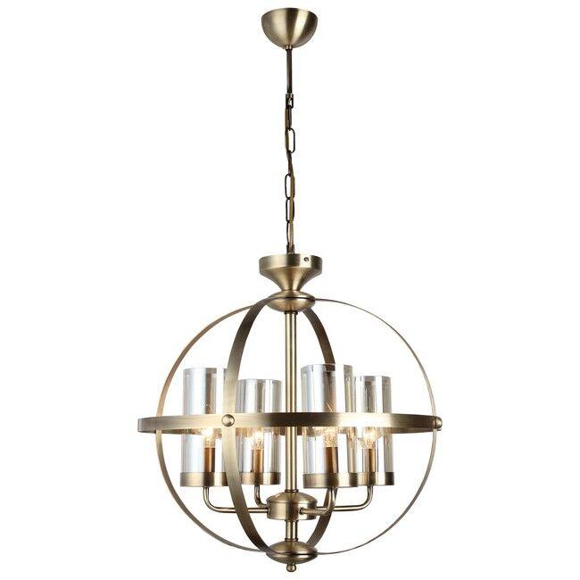 homemania lampadario fermo, rame