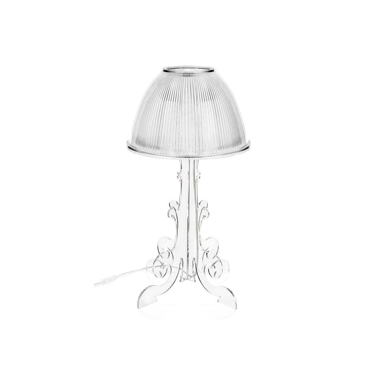 Braid Lampada da tavolo Clizia, trasparente