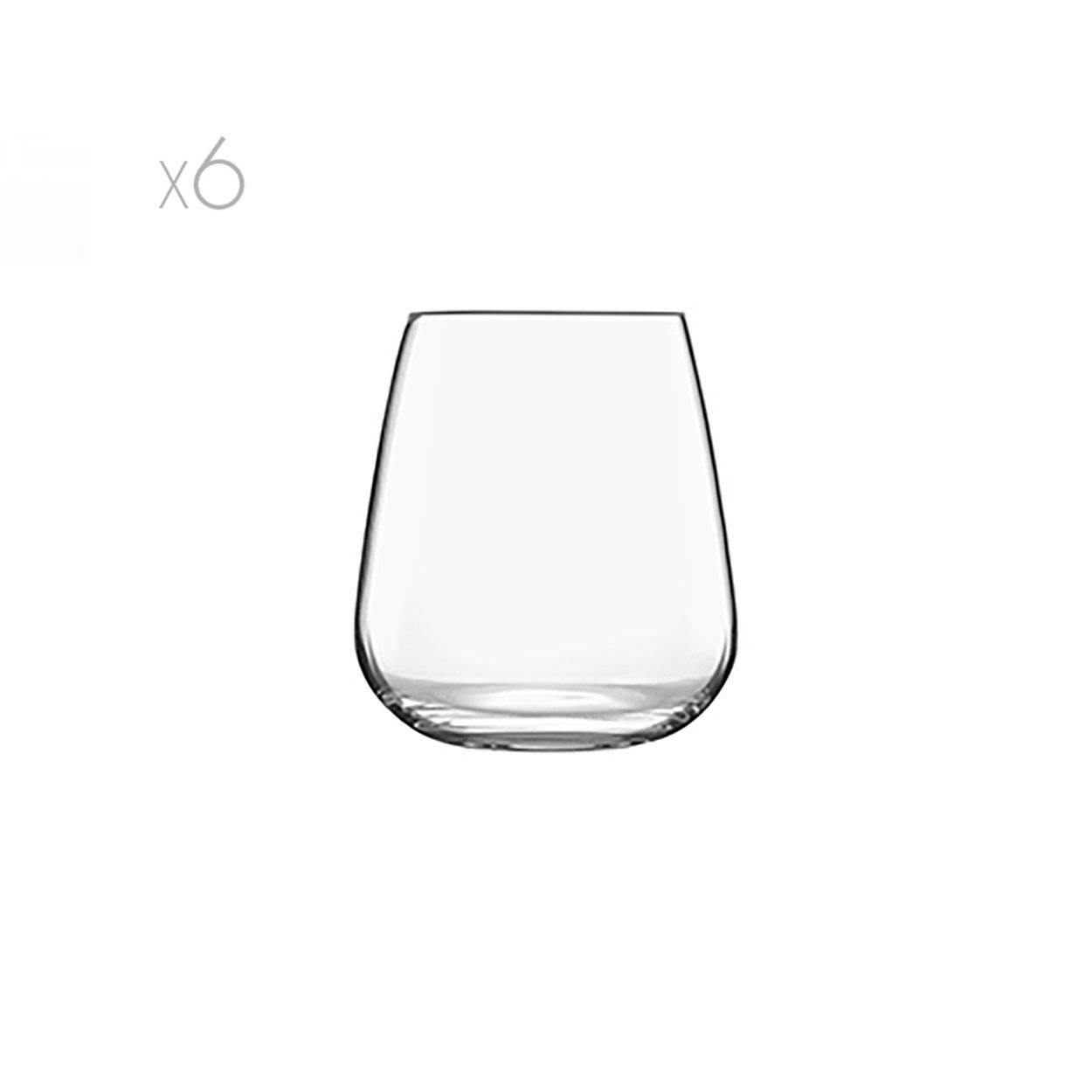 bormioli luigi set i meravigliosi bicchieri stemless 45 cl