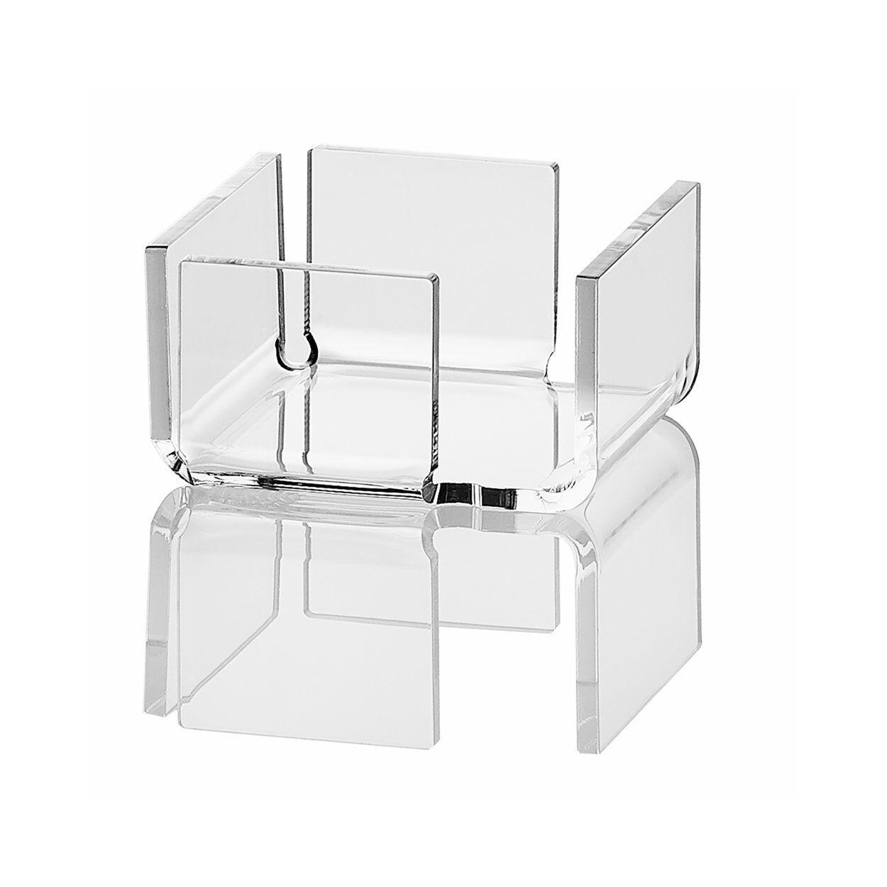 INOXRIV Flash crystal 8 porta bustine zucchero /tovaglioli 10,4x9,9