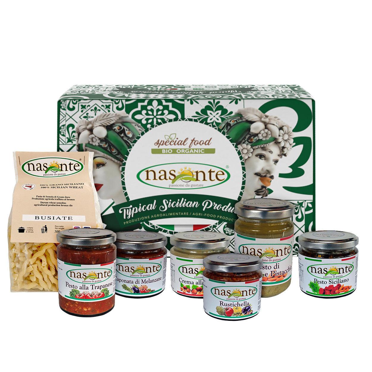 """Nasonte Confezione regalo - Natale in Sicilia """"01"""""""