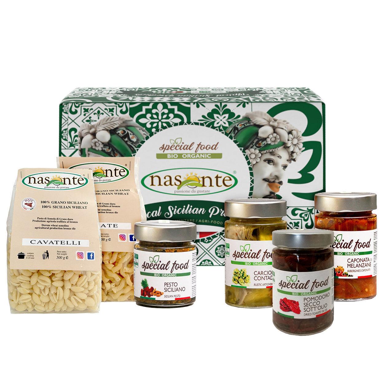 """Nasonte Confezione regalo - Natale in Sicilia """"07"""""""