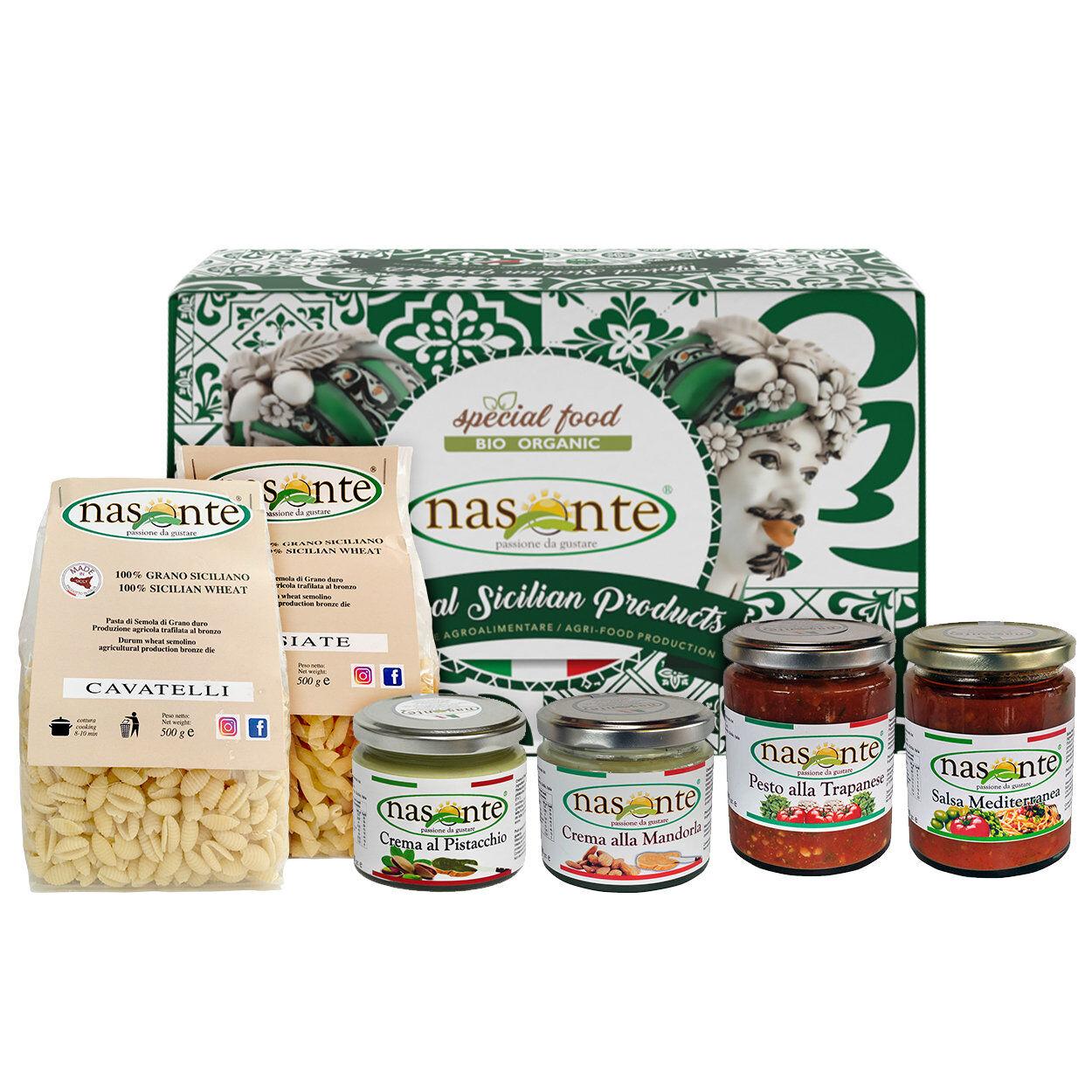 """Nasonte Confezione regalo - Natale in Sicilia """"08"""""""