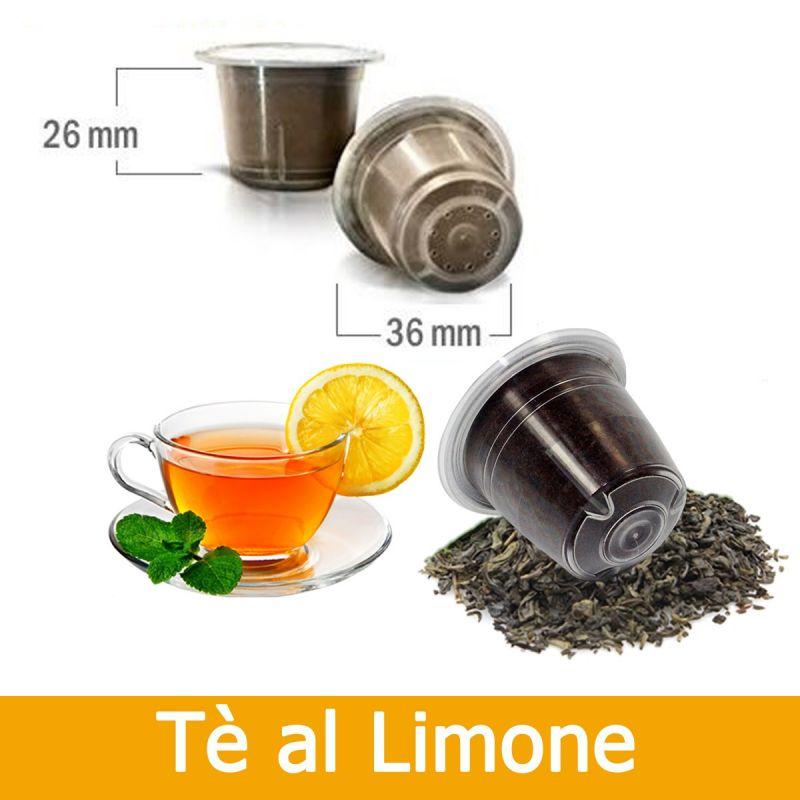 Caffè Kickkick 10 Tè Al Limone Compatibili Nespresso