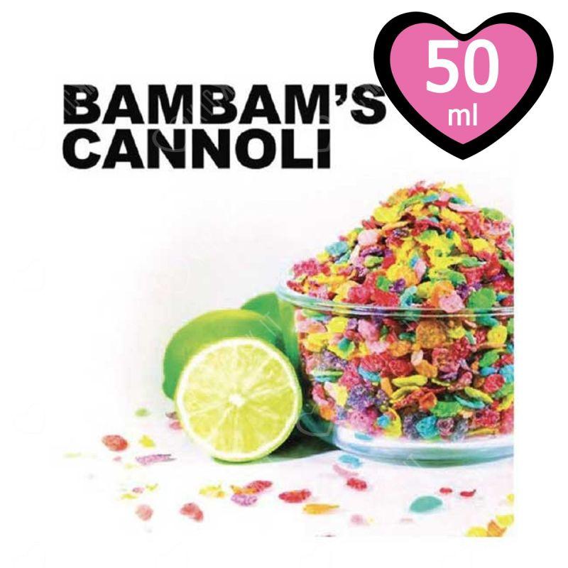 Original 50 Ml Mix&vape Bam Bam'S Cannoli