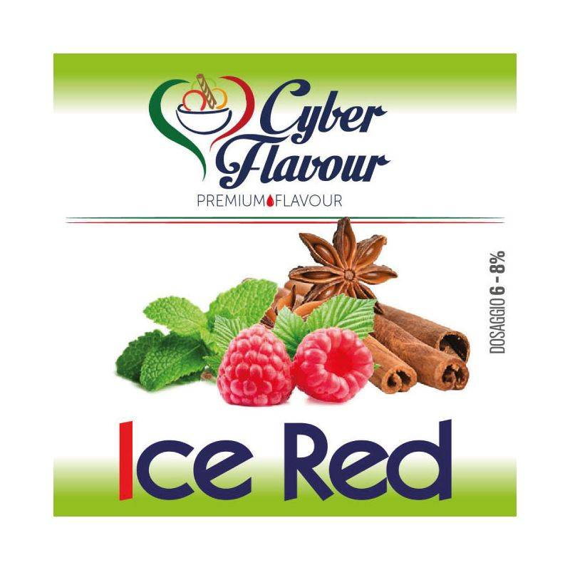 Cyber Flavour Ice Red  Aroma Concentrato 10ml
