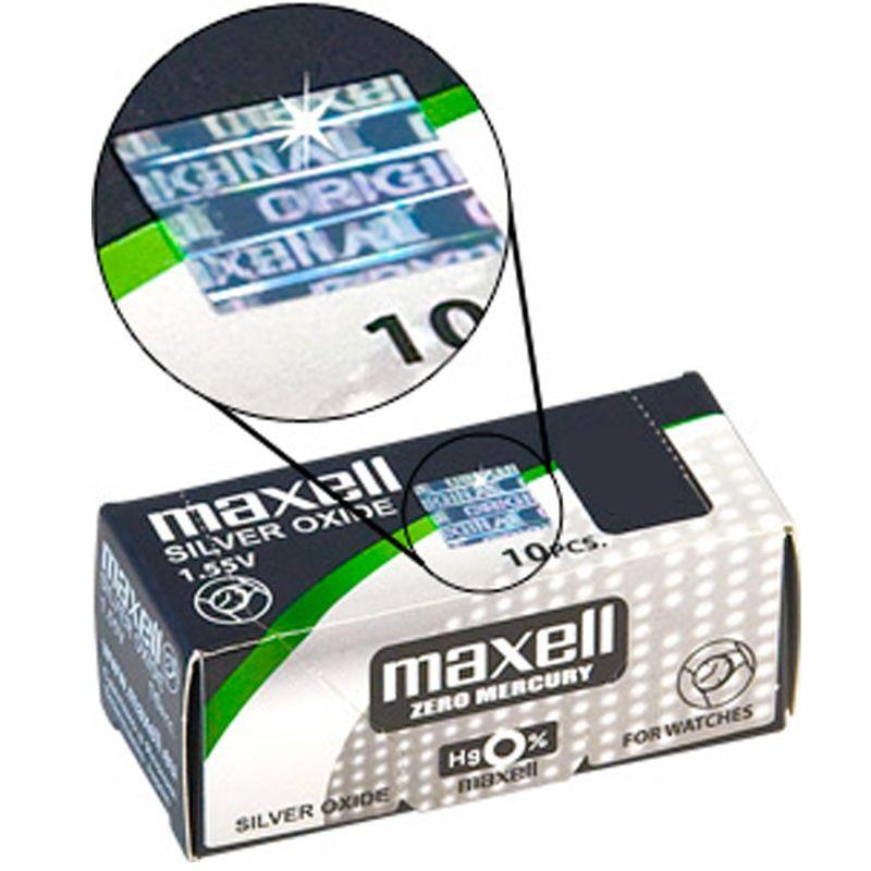 Maxell Pile 364  Sr621sw - 10 Batterie A Bottone
