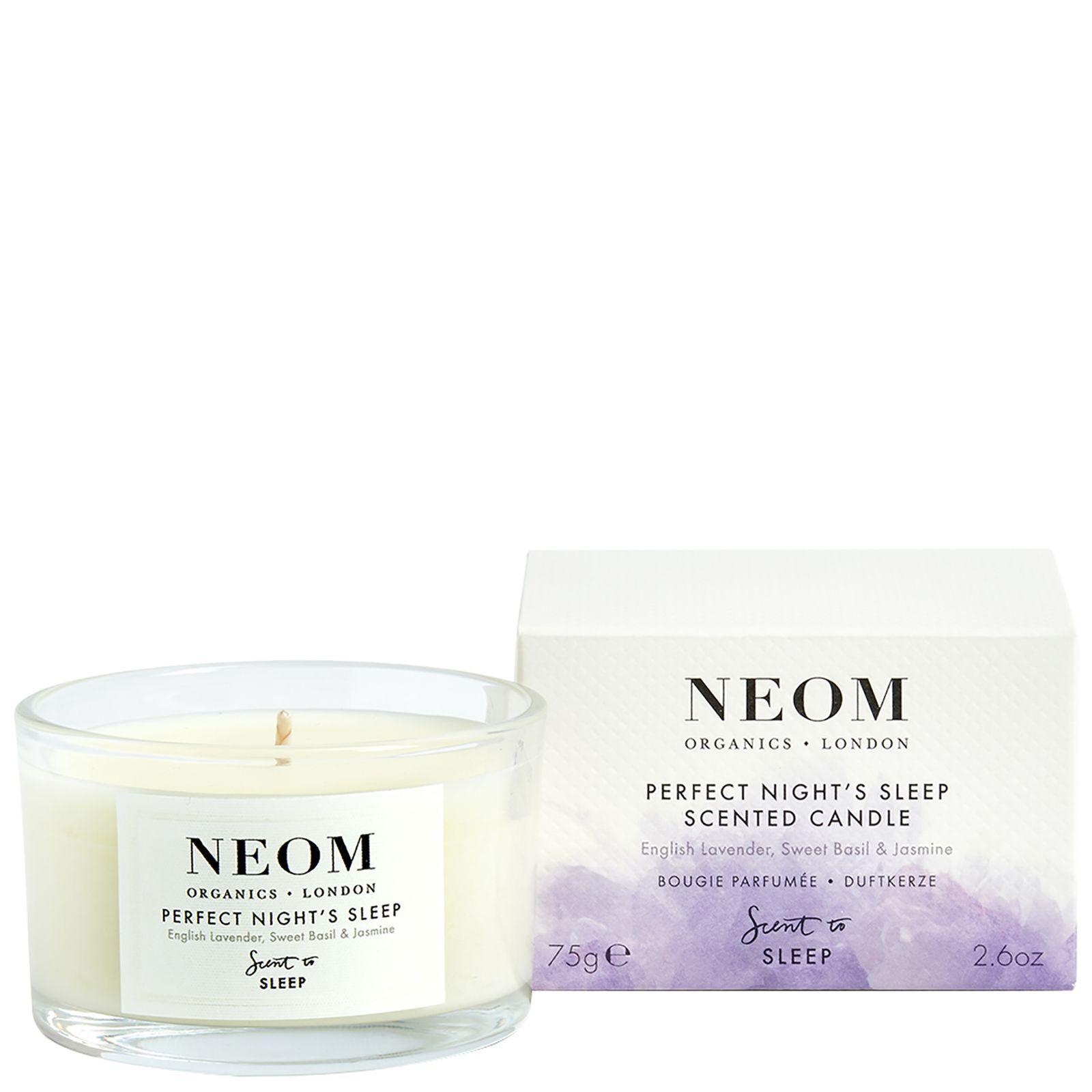 Neom Organics London Scent To Sleep Candela profumata con tranquillità (viaggio) 75g
