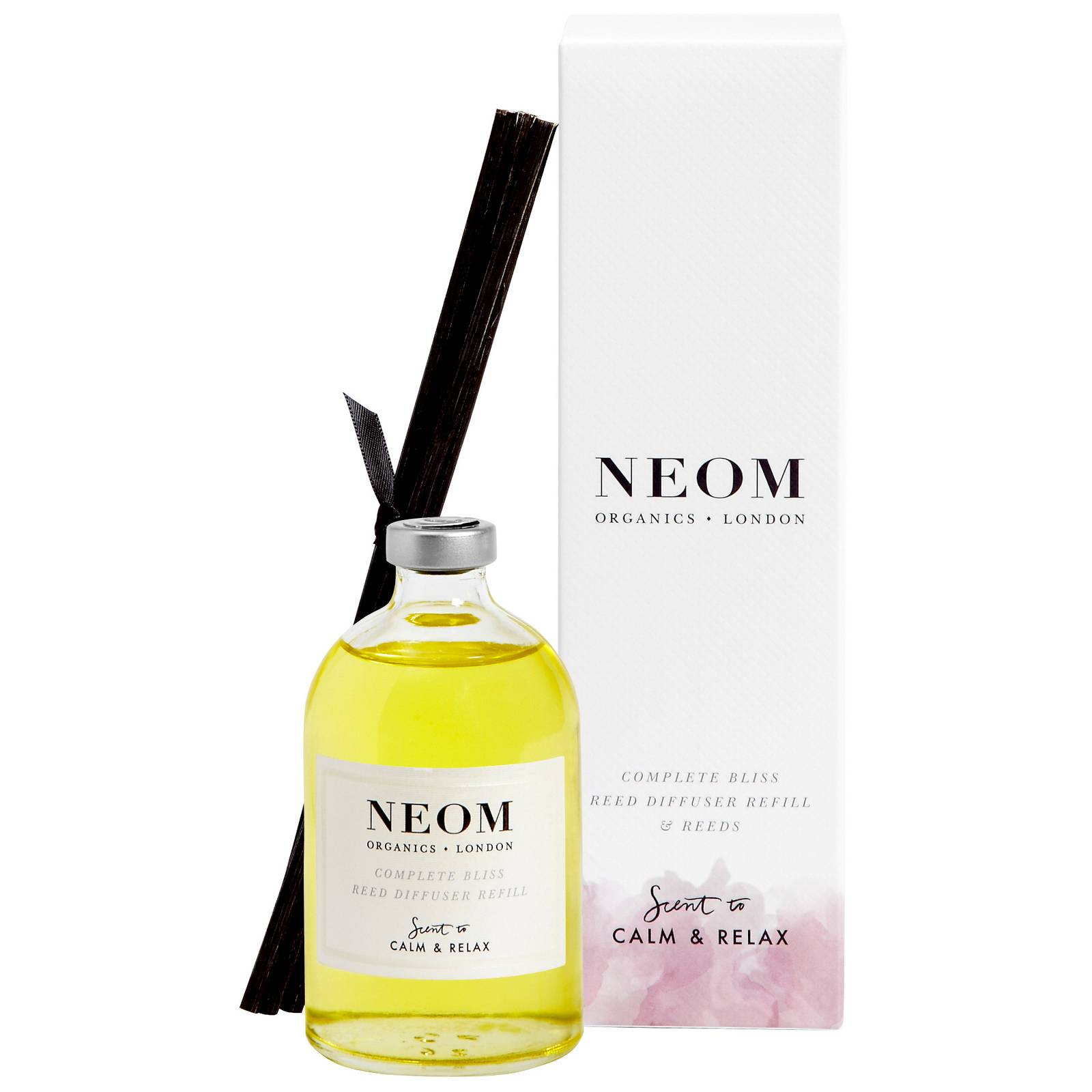 Neom Organics London Scent To Calm & Relax Beatitudine completa Reed diffusore ricarica 100ml