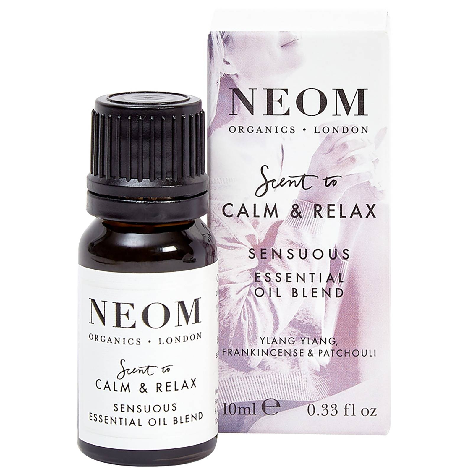 Neom Organics London Scent To Calm & Relax Sensuous Essential Oil Blend 10 ml