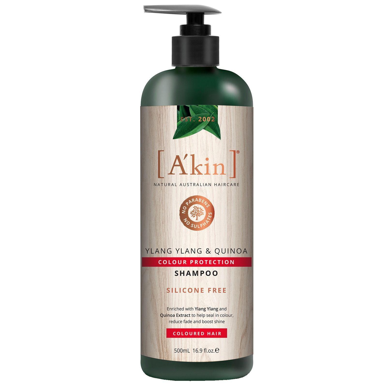 A'kin Hair Care Protezione colore Ylang Ylang & Quinoa Shampoo: Per capelli colorati 500ml