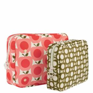 Orla Kiely Gifts & Sets Apple Double Wash Bag
