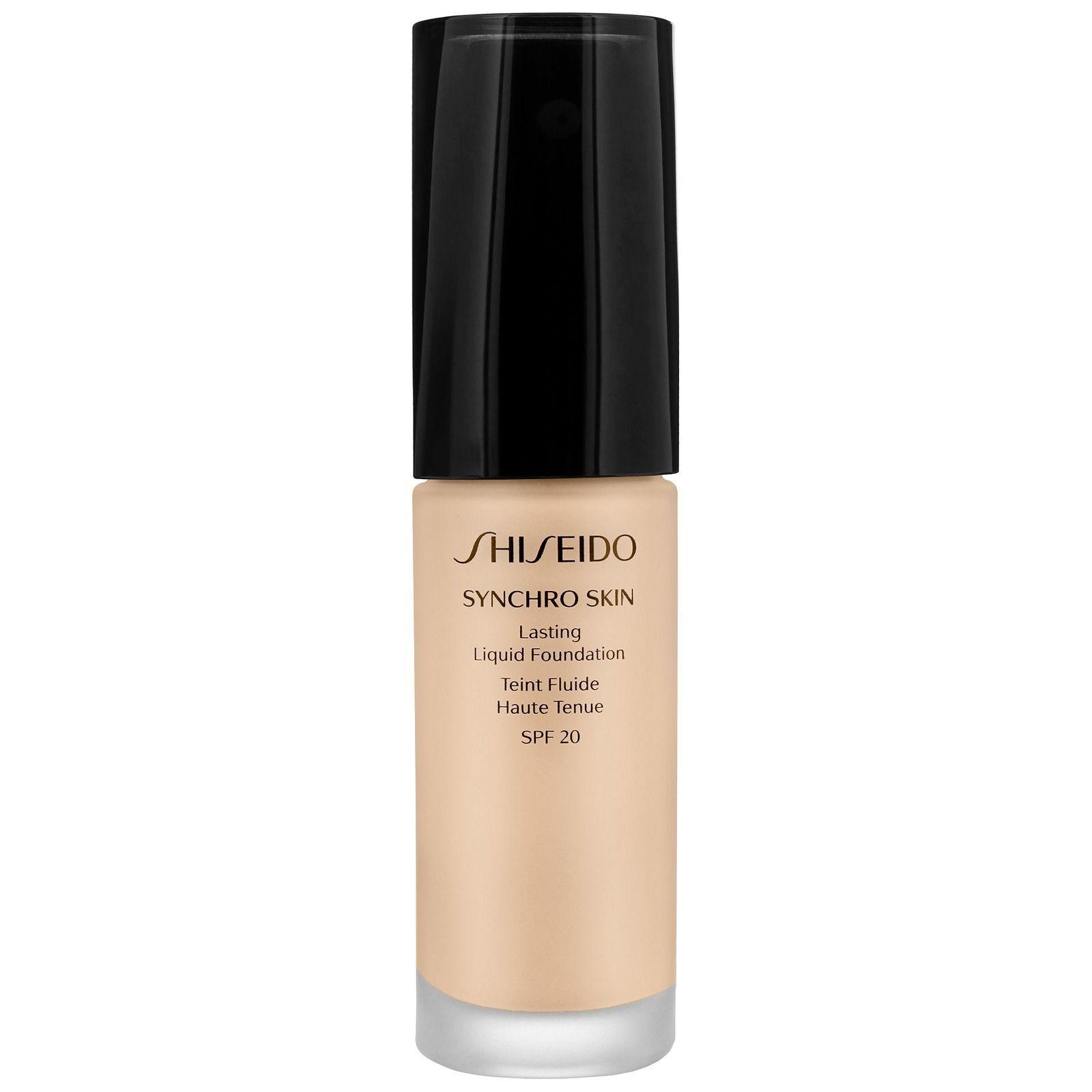 Shiseido Synchro Skin Lasting Liquid Foundation SPF20 Neutro 1 30ml / 1 oz.