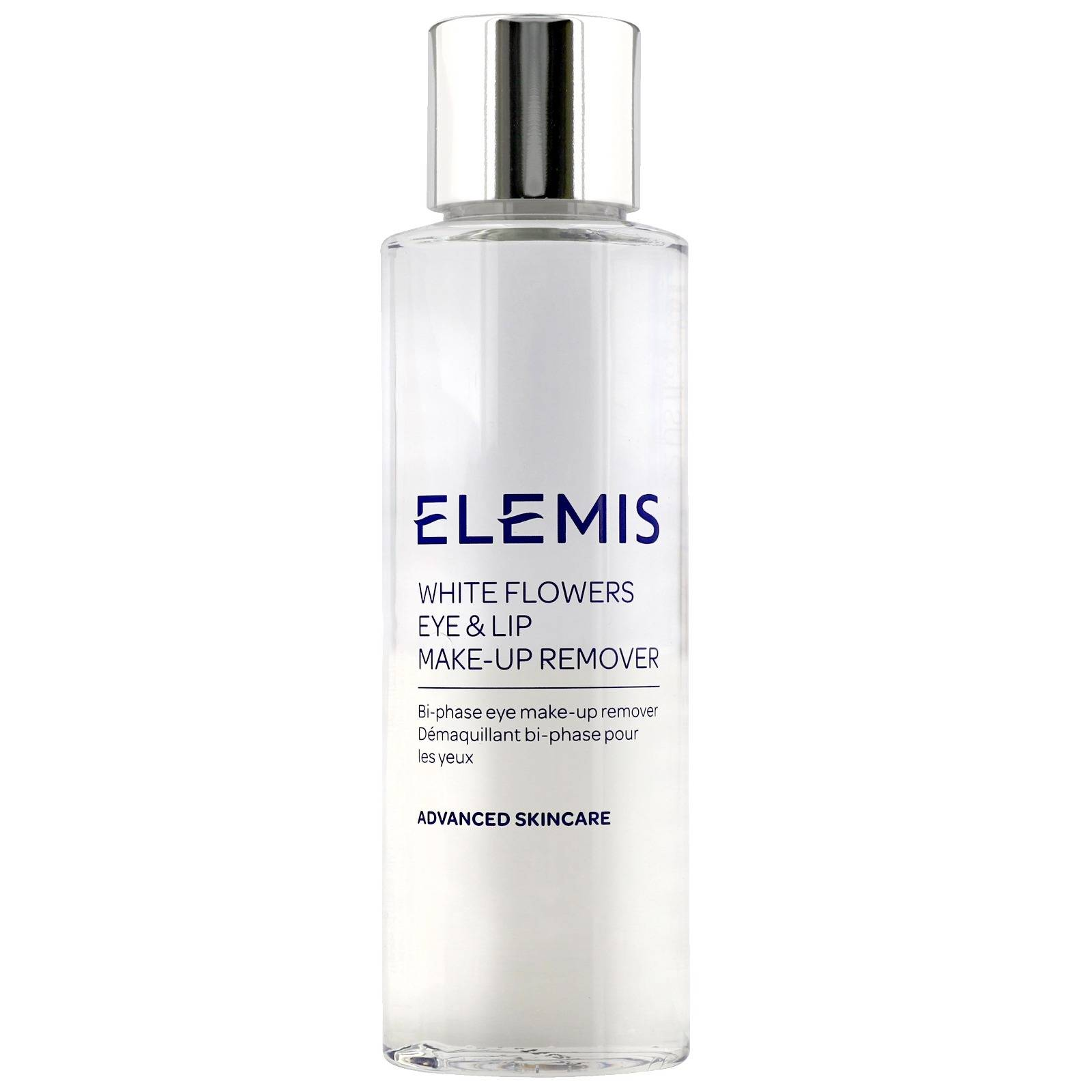 Elemis Advanced Skincare Bianco fiori Eye & Lip Makeup Remover 125ml / 4.2 oz.