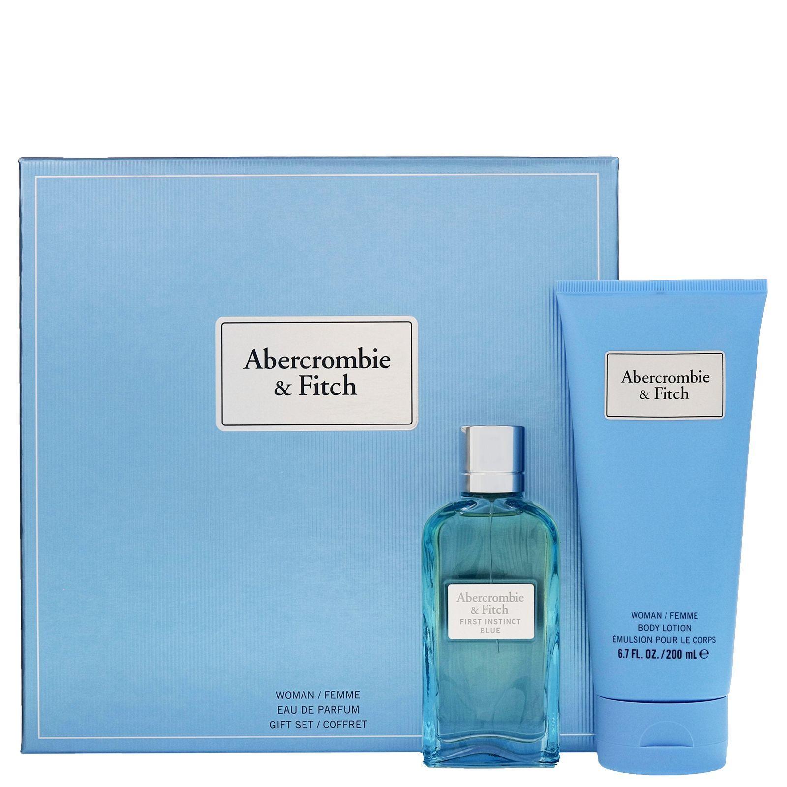 Abercrombie & Fitch First Instinct Blue For Her Eau de Parfum Spray 50ml Set regalo