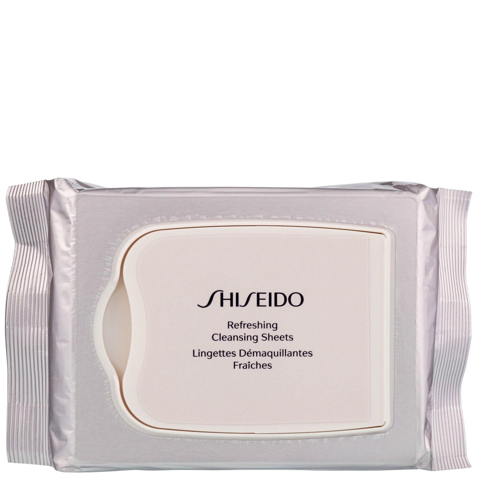 Shiseido Pureness Fogli di pulizia rinfrescante x 30