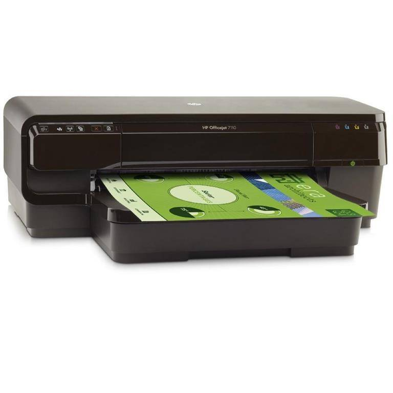 HP Stampante Ink-Jet HP Officejet 7110 Wide A3 Quadricromia