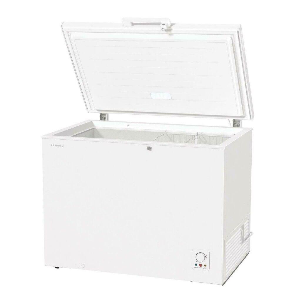 hisense fc394d4aw2 congelatore a pozzo orizzontale 303l statico