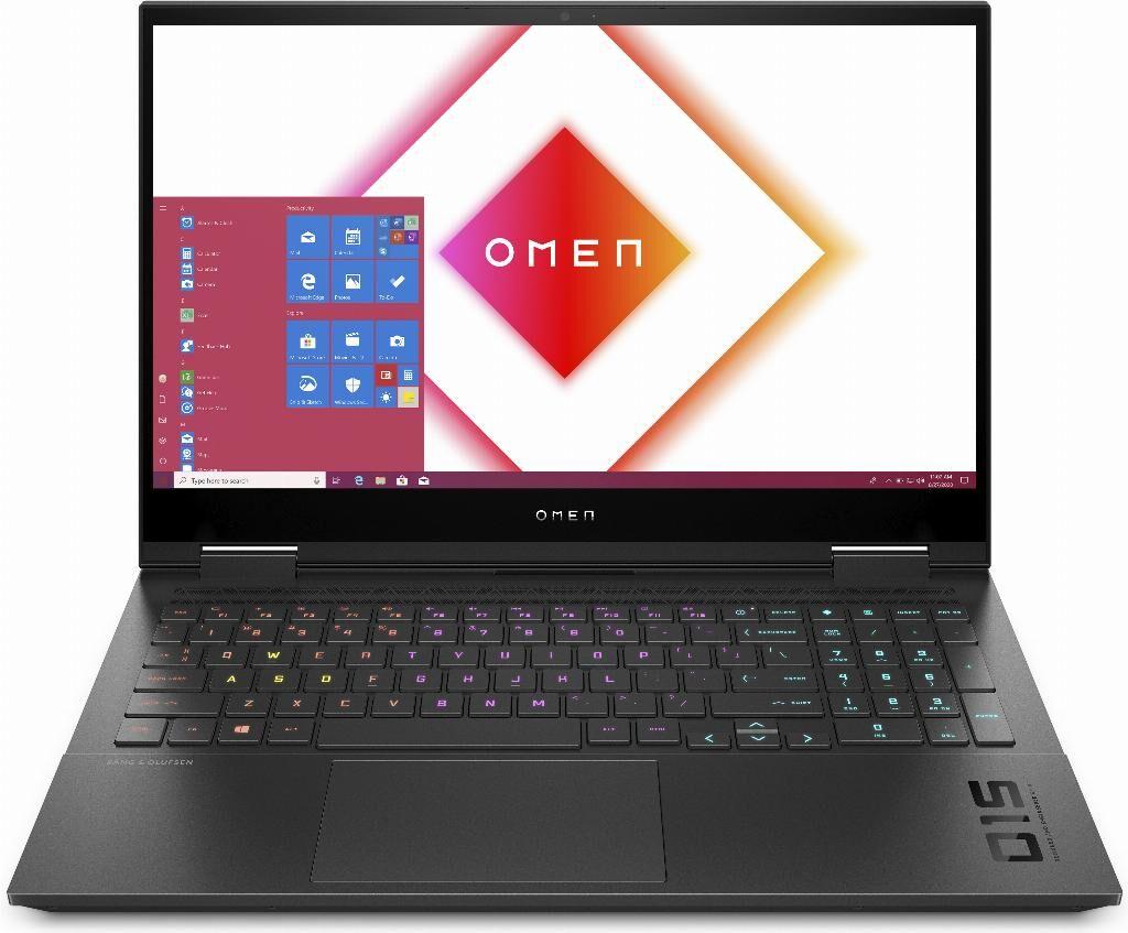 """HP OMEN 15-ek0022nl DDR4-SDRAM Computer portatile 39,6 cm (15.6"""") 1920 x 1080 Pixel Intel® Core™ i7 di decima generazione 16 GB 1000 GB SSD NVIDIA® GeForce RTX™ 2060 Wi-Fi 6 (802.11ax) Windows 10 Home Nero"""