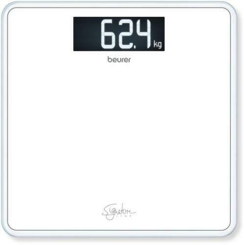 Beurer GS 400 Bianco signatureline Vetro Bagno