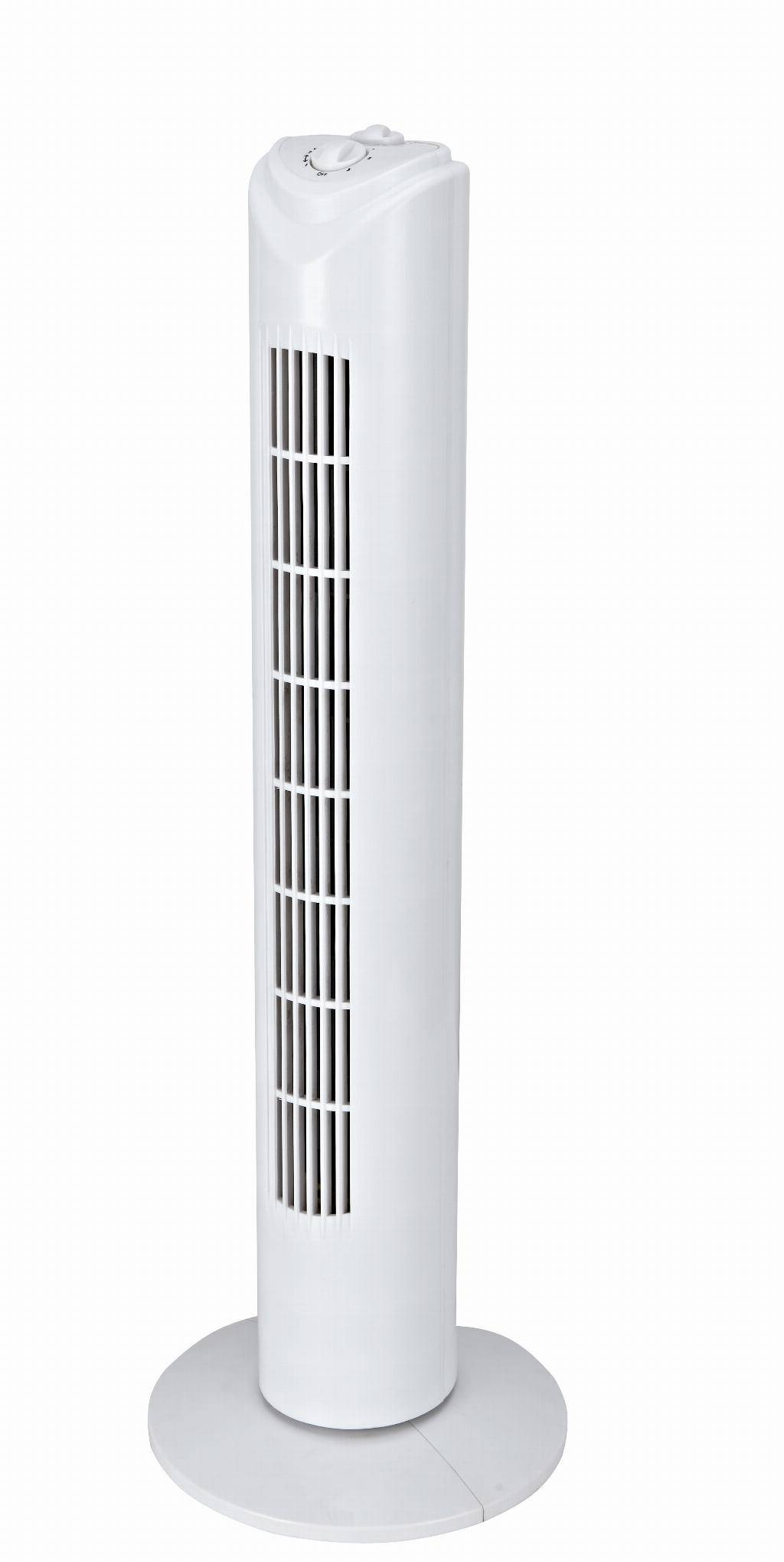 zephir ventilatore a colonna basico con timer h 80 cm